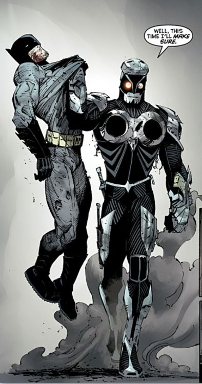 """DC COMICS - Batman vs Lincoln March """"You know, Bruce for a while, there was talk of training a new Talon. Before the serum was developed to allow for the waking of the talons' past. There was even a suit developed. Something tough modern"""""""