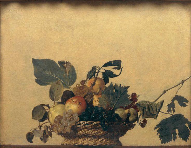 Michelangelo Merisi Caravaggio Basket of Fruit, Milan, Biblioteca Ambrosiana © De Agostini Picture Library