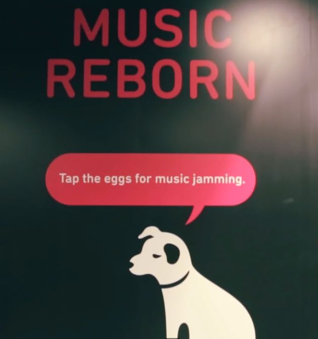 7 best hmv music reborn images on pinterest campaign hong kong novalia provided the interactivity for the hmv music reborn campaign in hong kong using conductive gumiabroncs Image collections