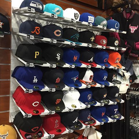 Can you find your team? #raiders #Rams #saints #cardinals #lions #panthers #astros #cubs #sox #as #bulls #bears #nationals #49ers #braves #raw #bluejays #steelers #warriors #seahawks #yankees #reds #nfl #nba #mlb #nhl #newera