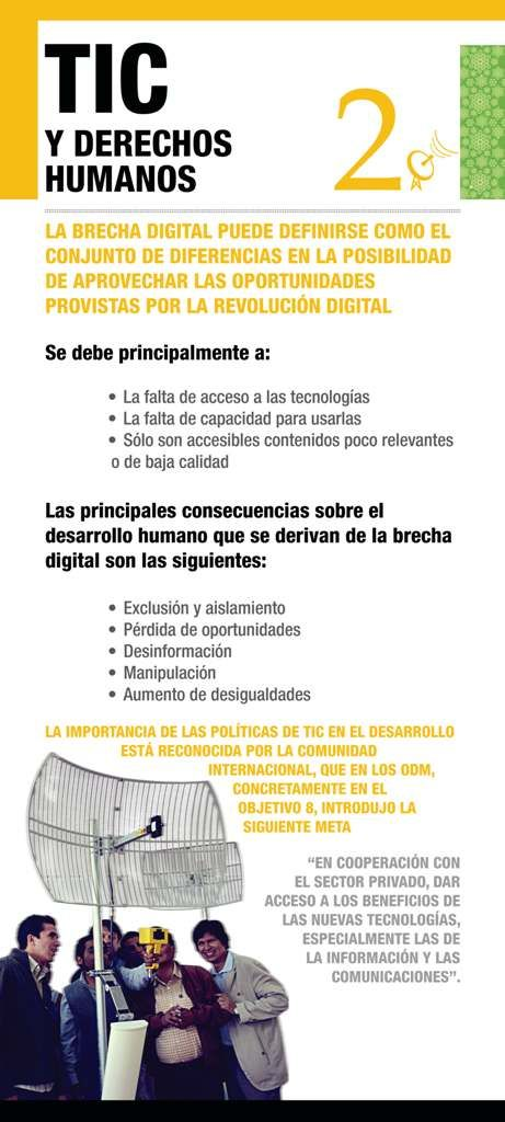 TIC y Derechos Humanos #conceptos #infografía