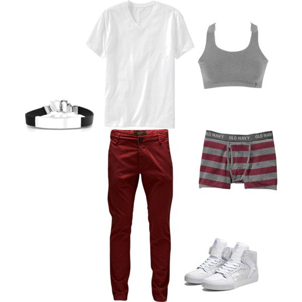 Untitled #3 by gladis-quezada on Polyvore featuring polyvore fashion style Danskin Supra Bling Jewelry Jack & Jones Old Navy
