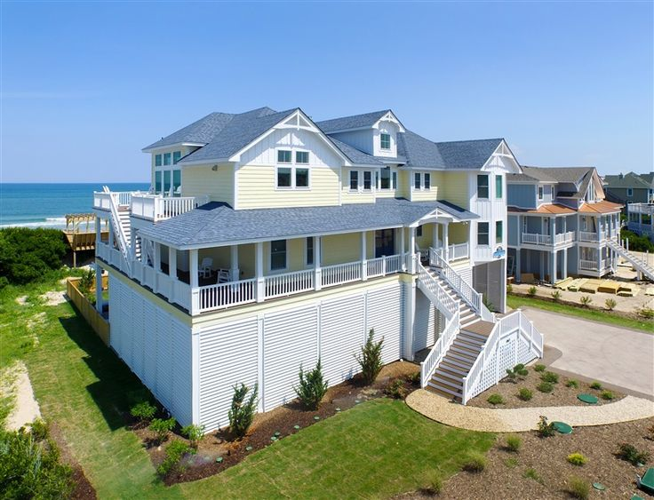 17 Best Images About Outer Banks Exteriors On Pinterest Cottages Vacation Rentals And Starry