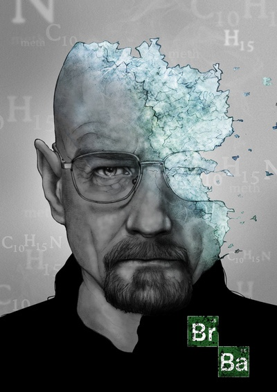 Breaking Bad - Walter White by Arnaud Gomet