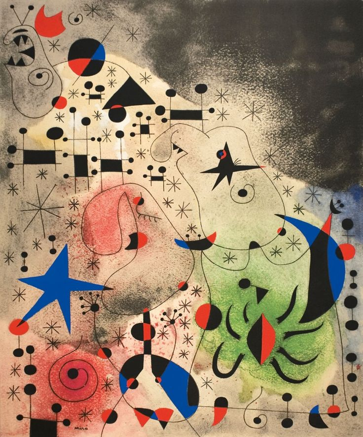 Joan Miró, André Breton, Constellations,