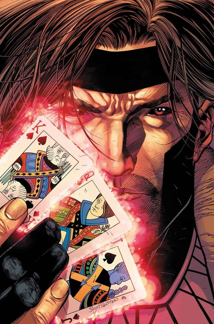 Gambit on X-Men Gold Cover #3 !