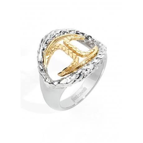Un #gioiello #perfetto per cominciare al #meglio la vostra #giornata!!! Just Cavalli #Anello #Drops #Donna #Acciaio #Pvd #Gold