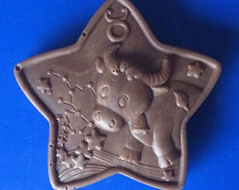 Set von 3-Taurus Praline - SUNSIGN Süßigkeiten - Sternzeichen Horoskop Partei zugunsten