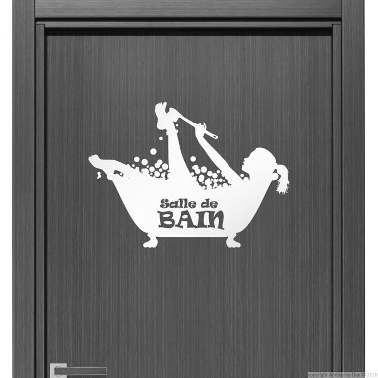 29 best galerie sticker salle de bain bathroom wall decal gallery images on pinterest wall