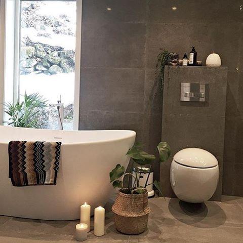 Credit: @uruffuru ✨ #norge #nordisk #norway #nordiskdesign #design #interior #interiør #inspirasjon #inspo #relax #light #home #hjem #instahome #instahjem #repost #stil #stilrent #living #life #kos #koselig #bad #bade #bath #baderom #bathtime #bathroom