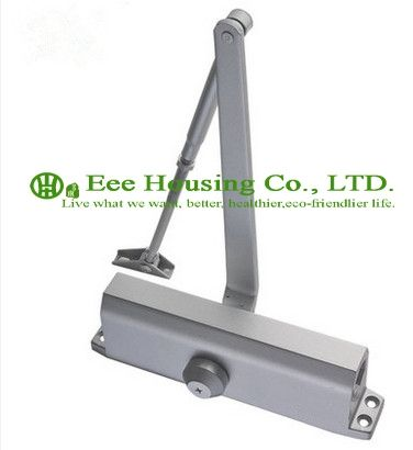 118.00$  Watch now - http://alizcn.worldwells.pw/go.php?t=32772554283 - Free Shipping Automatic Aluminum Alloy Door Closers/ Max bearing capacity 65KG, Commercial Door Closer, Silver Aluminium Alloy 118.00$