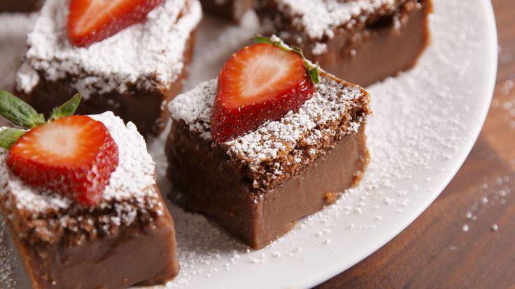 Chocolate Magic Cake   - Delish.com