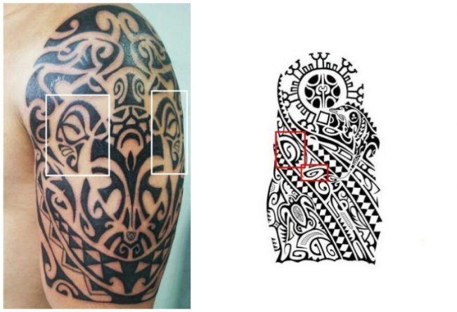 polynesische-tattoos-zeichen-bedeutung-beispiel-tiki