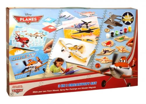 Disney planes 3 in 1 creativity set
