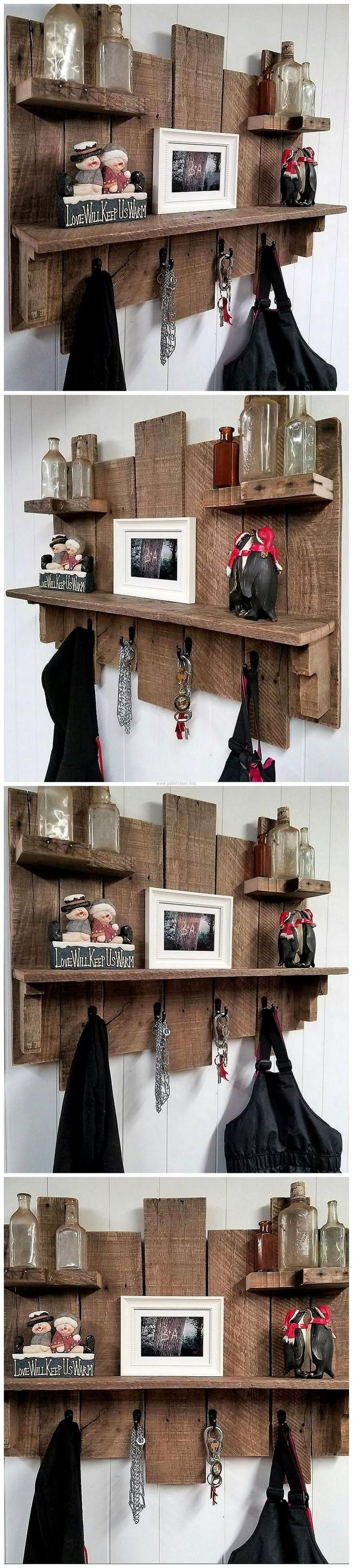 The items that fulfill multiple purposes are great because they save the space as well as the money; it eliminates the requirement of buying or creating the products for different purpose separately. Wood pallets serve well by giving a chance to reshape them into different unique ideas with one item fulfilling many purposes.