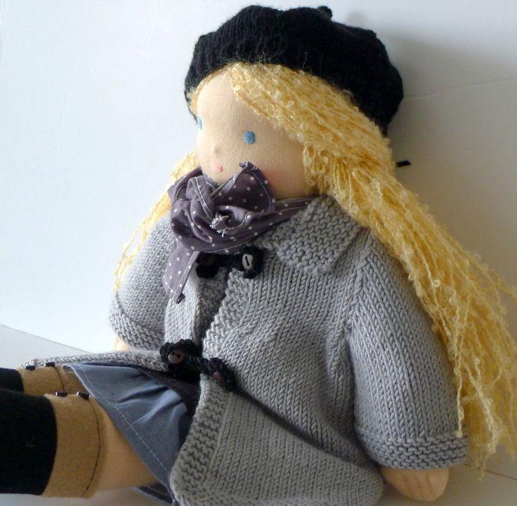 Poupée Waldorf blonde