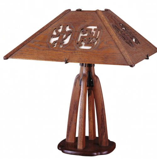Table lamp for den. http://digitallibrary.usc.edu/cdm/ref/collection/p15799coll61/id/755