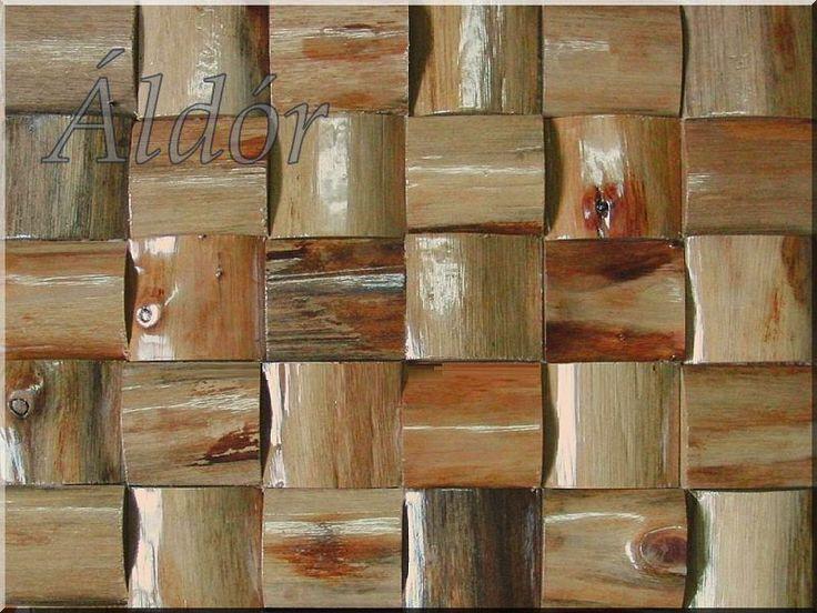 hársfa fali dekoráció