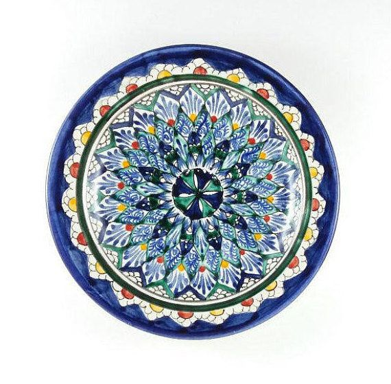 Blue And Green Plates Small Handmade Ceramic Plate Pottery Gift For Women Decorative Plates Disp Handcrafted Pottery Handmade Ceramics Plates Pottery Gifts
