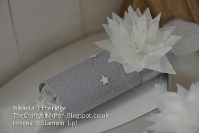 Mikaela Titheridge, Independent Stampin' Up! Demonstrator, The Crafty oINK Pen, Cambridgeshire, UK. Stampin' Creative Festive Frenzy Blog Hop. Pillow Box New Year's Eve Table Setting www.thecraftyoinkpen.stampinup.net