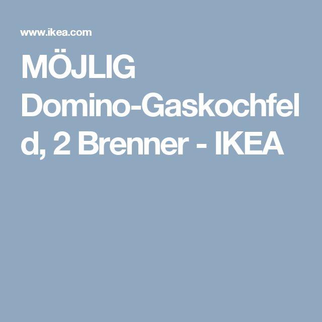 MÖJLIG Domino-Gaskochfeld, 2 Brenner - IKEA