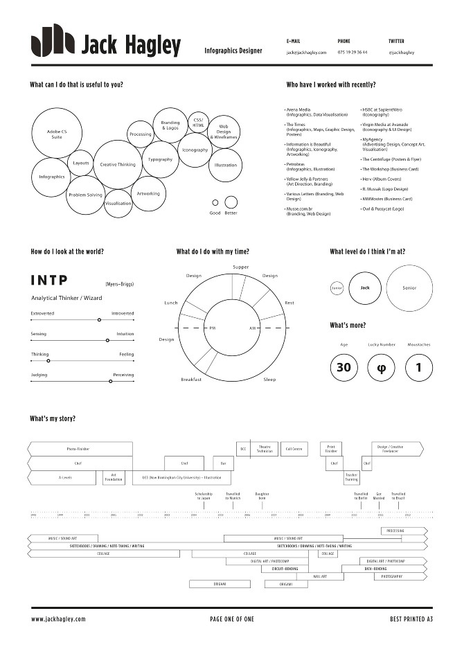 34 best Infographics CV images on Pinterest Resume design, Cv - promotion resume