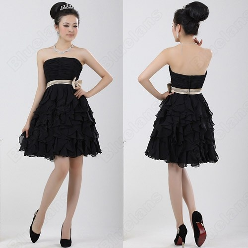 Pleated bodice strapless ball gown evening dress fashion and stuff
