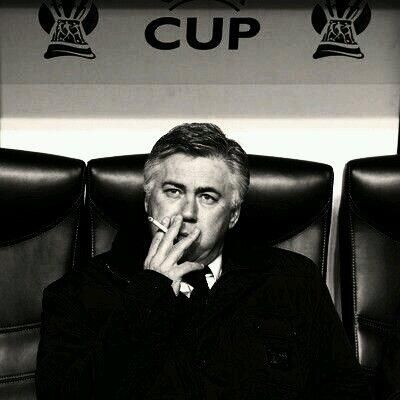 Carlo Ancelotti Manager- Real Madrid