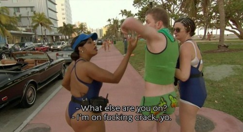 LMAO I LOVEEEEE RENO 911, I can never stop crying from laughter