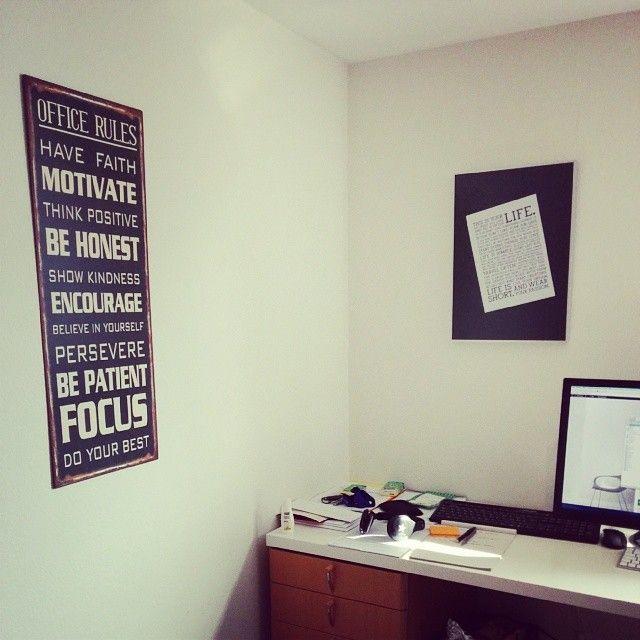 Office Rules metal sign. #sign http://blechschildershop.ch/produkt/office-rules/