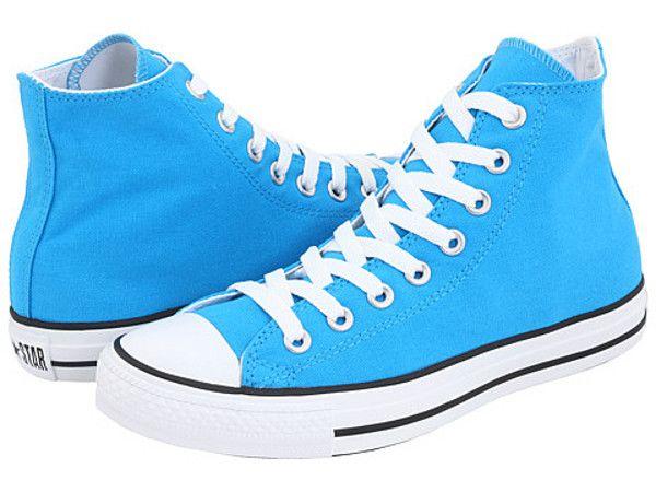 Neon Light Tennis Shoes