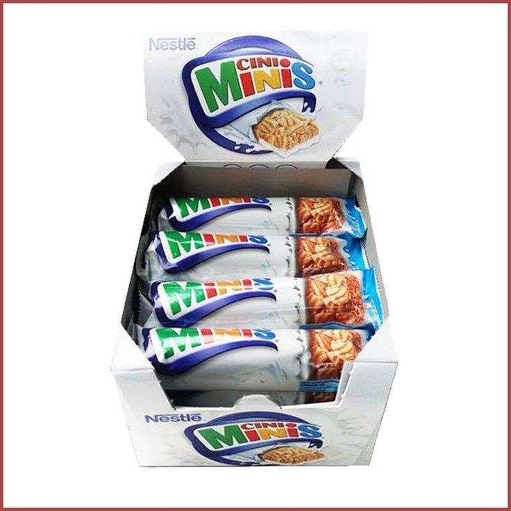 (1000g=22,48€) Nestle Cini Minis Riegel 16x25g ✪ Müsli Riegel, Kinder Süßware ✪
