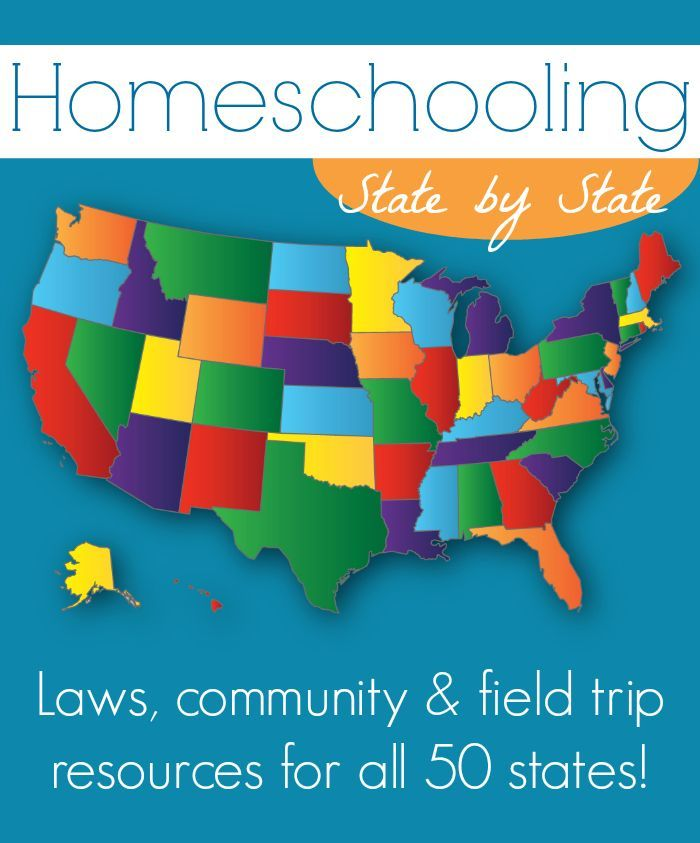 Homeschooling Laws, Community, field trip resources for all 50 states