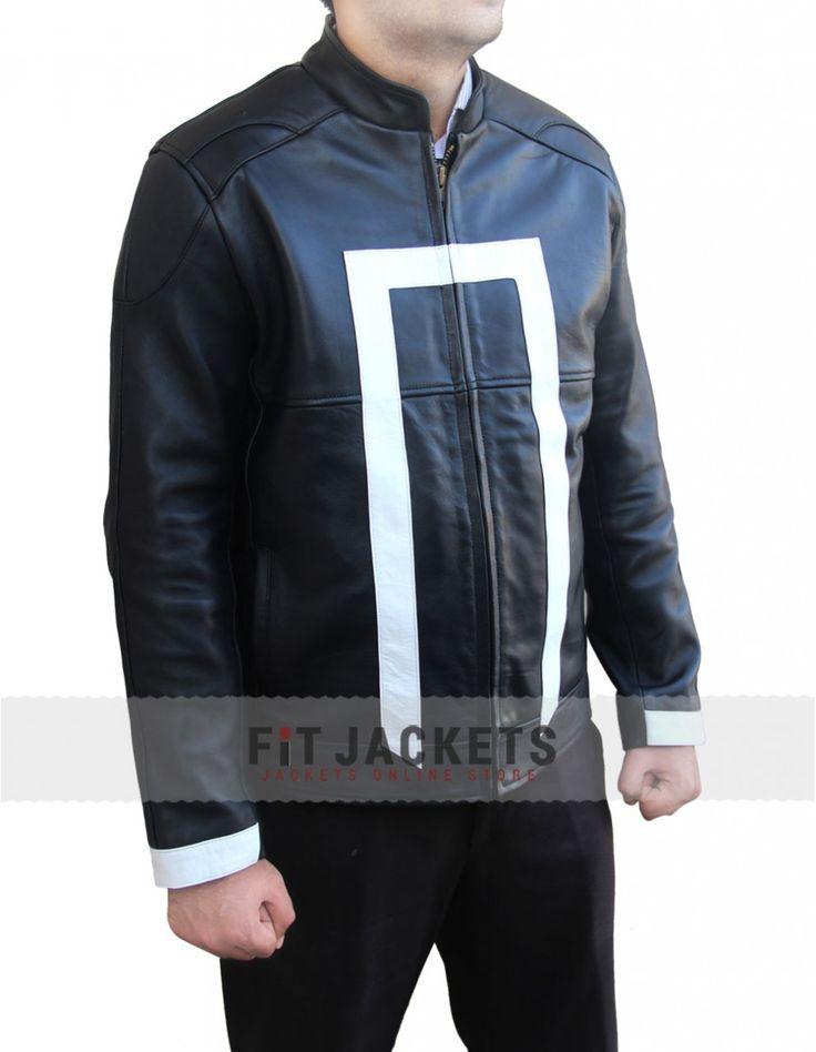 Super new Gabriel Luna Ghost Rider Agents of Shiled Jacket for sale fitjackets.  #GhostRider #Movie #GabrielLuna #WinterFashion #Celebrity #Fashion #Shopping #Stylish #Fashion #MensJackets #geektyrant #geek #geekcheezburger #LeatherOutfit #MensFashion #MensWear