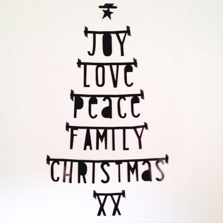 Xmas Decoration Letter Banner