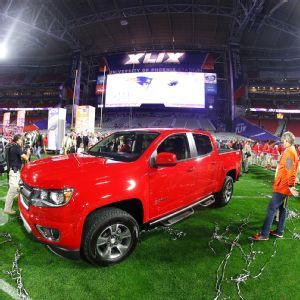 Tom Brady is giving his Chevy Colorado he got for being the #SB49 MVP to his teammate Malcolm Butler
