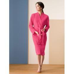 Walbusch Damen Bade-Mantel Rosé einfarbig WalbuschWalbusch