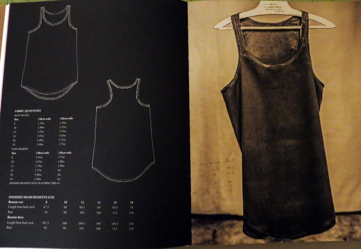 Merchant & Mills Workbook - the Bantam vest