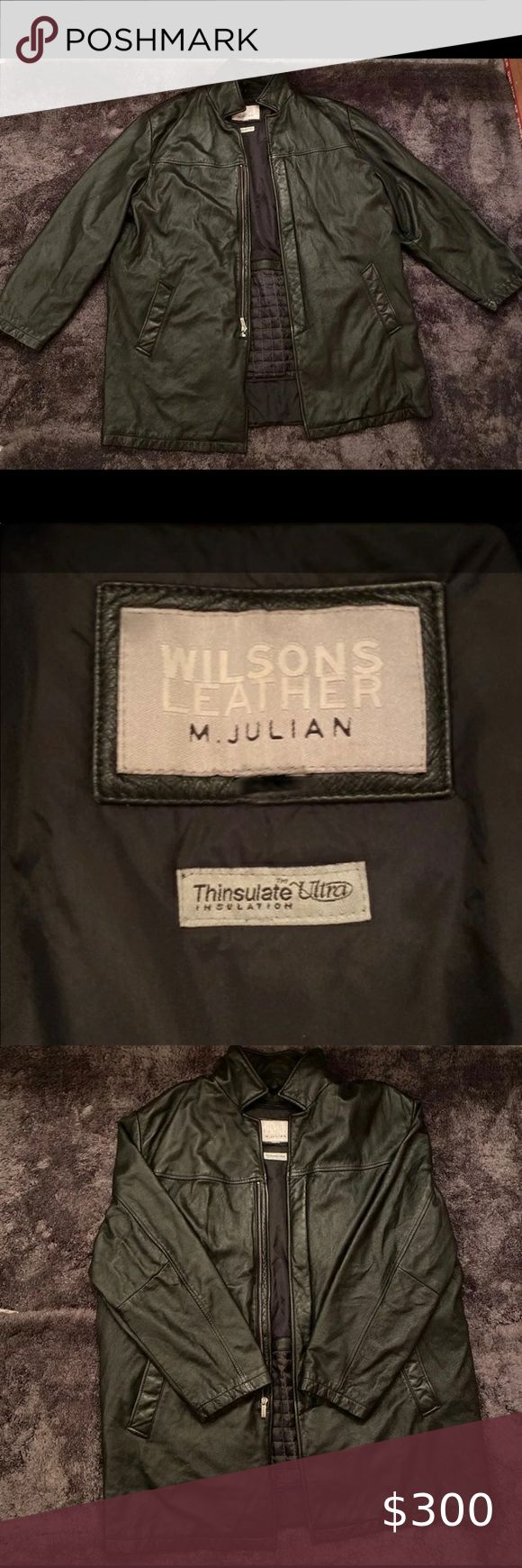 Vtg Wilsons Leather M.Julian Thinsulate Jacket in 2020