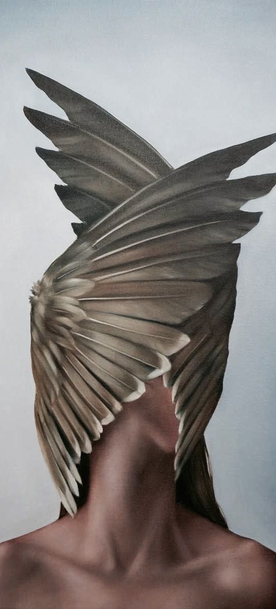 Amy Judd   - Surrealism wings : The wings suggest me force and impact, solitude and possession, imprisoment and desire of liberty.