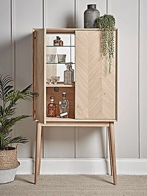 Chevron Drinks Cabinet   – Home Ideas – #cabinet #Chevron #drinks #Home #Ideas   – Shelvess