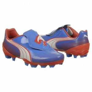 SALE - Puma EC1292506 Soccer Cleats Womens Blue Synthetic - Was $75.00 - SAVE $8.00. BUY Now - ONLY $67.50