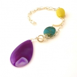 A bright colourful and fun necklace for spring - love it! $58.00