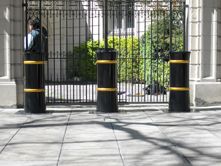 The static PAS 68 Bollards, are a hostile vehicle mitigation solution - HVM, impact tested anti-terrorist static bollards providing protection from a range of determined threats from vandalism to the extreme of a Vehicle Borne Improvised Explosive Device (VBIED), Scimitar Bollards are ideal to discreetly protect sites where aesthetics and public perception are a consideration.