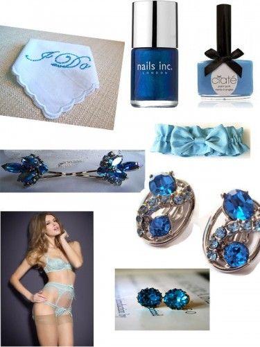 Something blue...