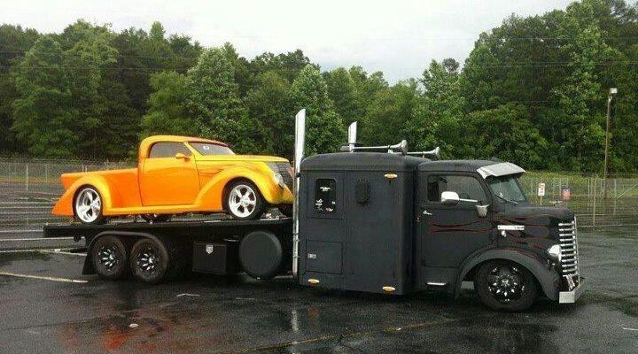 Ratrod car hauler
