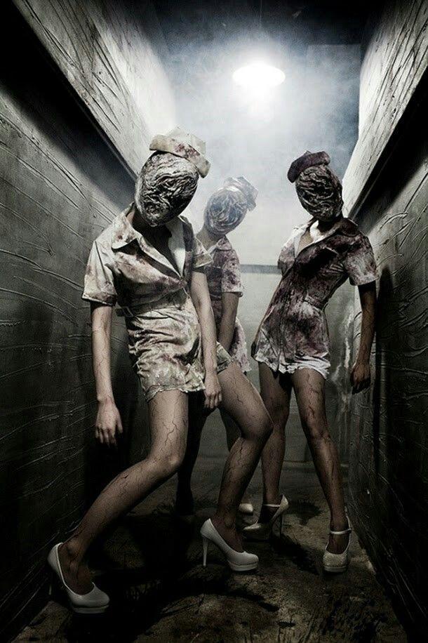 Silent hill enfermeras