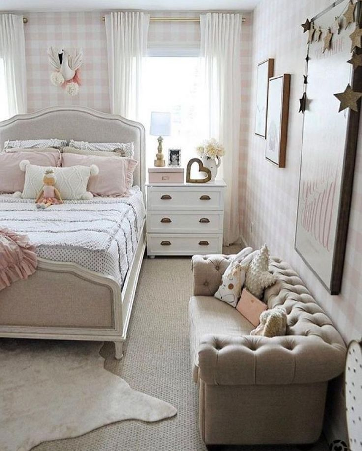 Gorgeous Small Couch Designs To Complete Your Bedroom ...