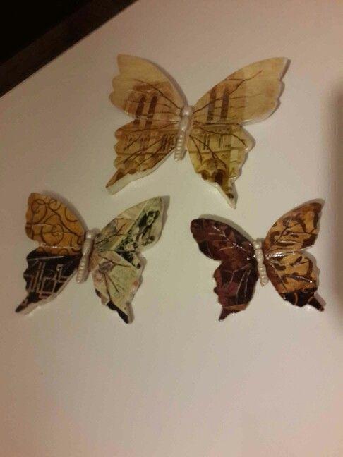 dekor kelebek