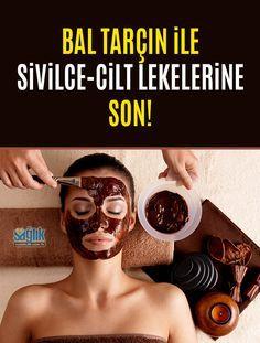 Bal tarçın maskesi ile sivilcelere son!  #sivilce #ciltlekesi #akne #maske #ciltbakımı #güzellik #sağlıkhaberleri #kadın